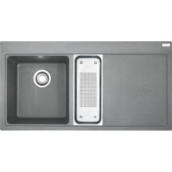 Franke MTG 651-100 vanička vľavo, šedý kameň