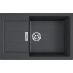 Franke S2D 611-78 XL čierna