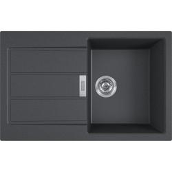 Franke S2D 611-78 čierna