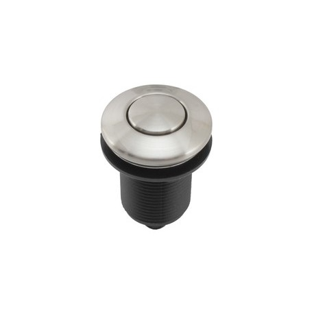 EcoMaster pneutlačítko – matný chróm