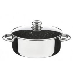 Kolimax Kastról CERAMMAX PRO STANDARD s pokrievkou, priemer 26 cm, objem 5.0 l, keramický povrch čierny granit