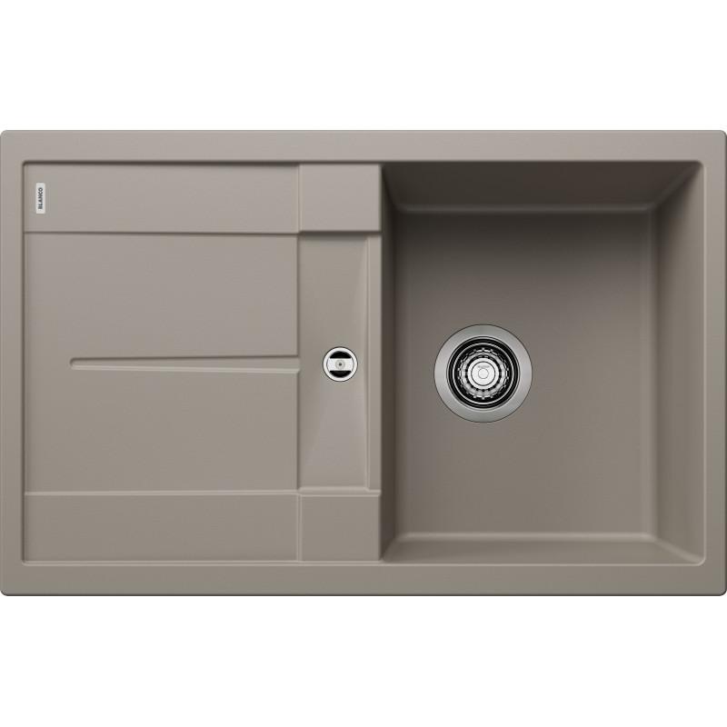 kuchynsk drez blanco metra 45 s silgranit. Black Bedroom Furniture Sets. Home Design Ideas