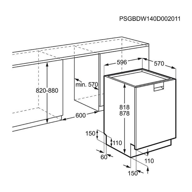 Electrolux esf 8585 rox e spotrebice for Medidas de lavadoras