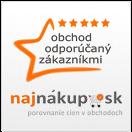 Logo Najnakup - Obchod overený zákazníkmi