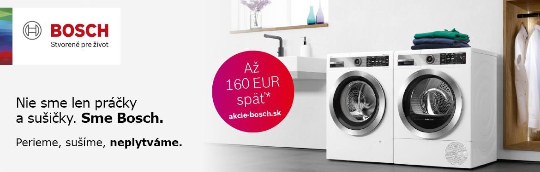 BOSCH CASHBACK práčky a sušičky Q42020