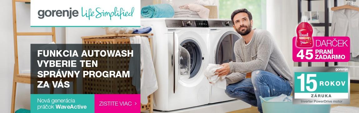 Gorenje pranie 2018