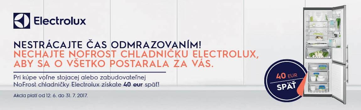 Electrolux NoFrost cashback 40€