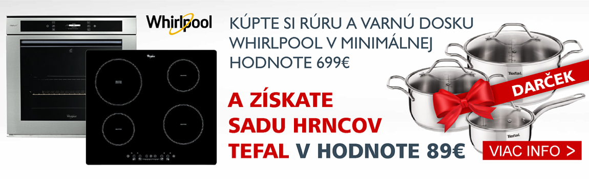 Whirlpool Tefal rúra + v.d.