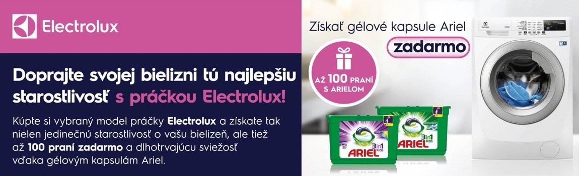 Electrolux akcia ariel